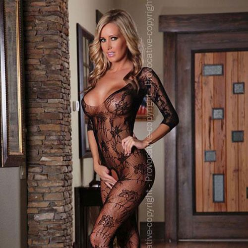 Open bodystocking
